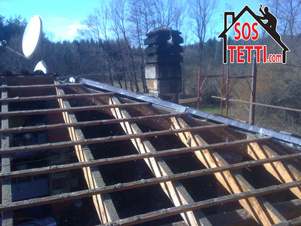 Cugliate- Va - Struttura del tetto