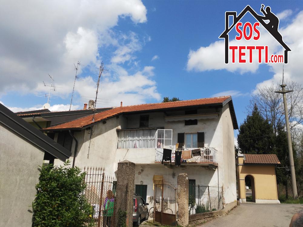 Provincia di Como - Locate Varesino - ristrutturazione del tetto