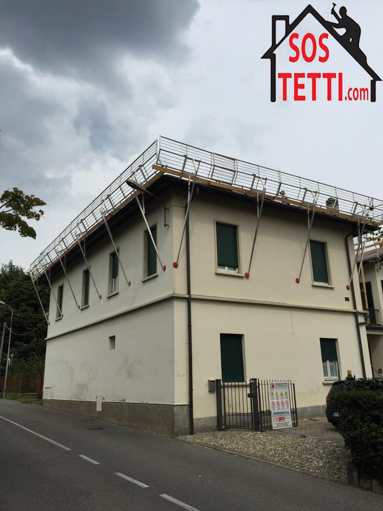 Rifacimento del tetto - Cantu'- provincia di Como