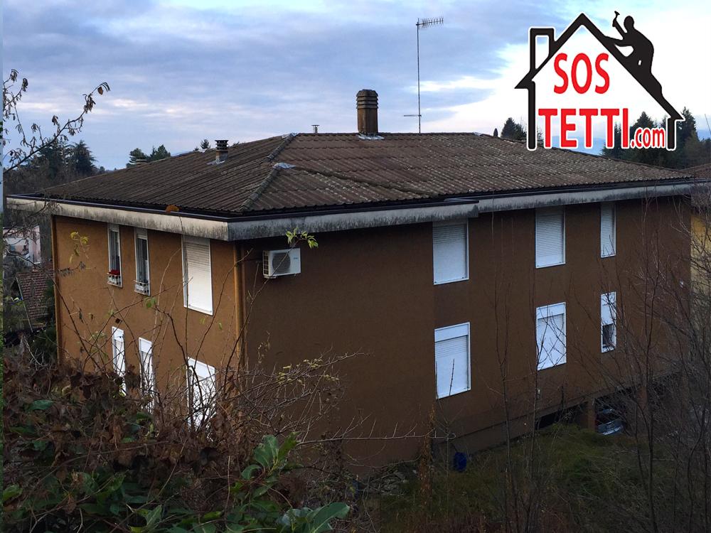 Casciago provincia di Varese: Rifacimento di tetto in Eternit