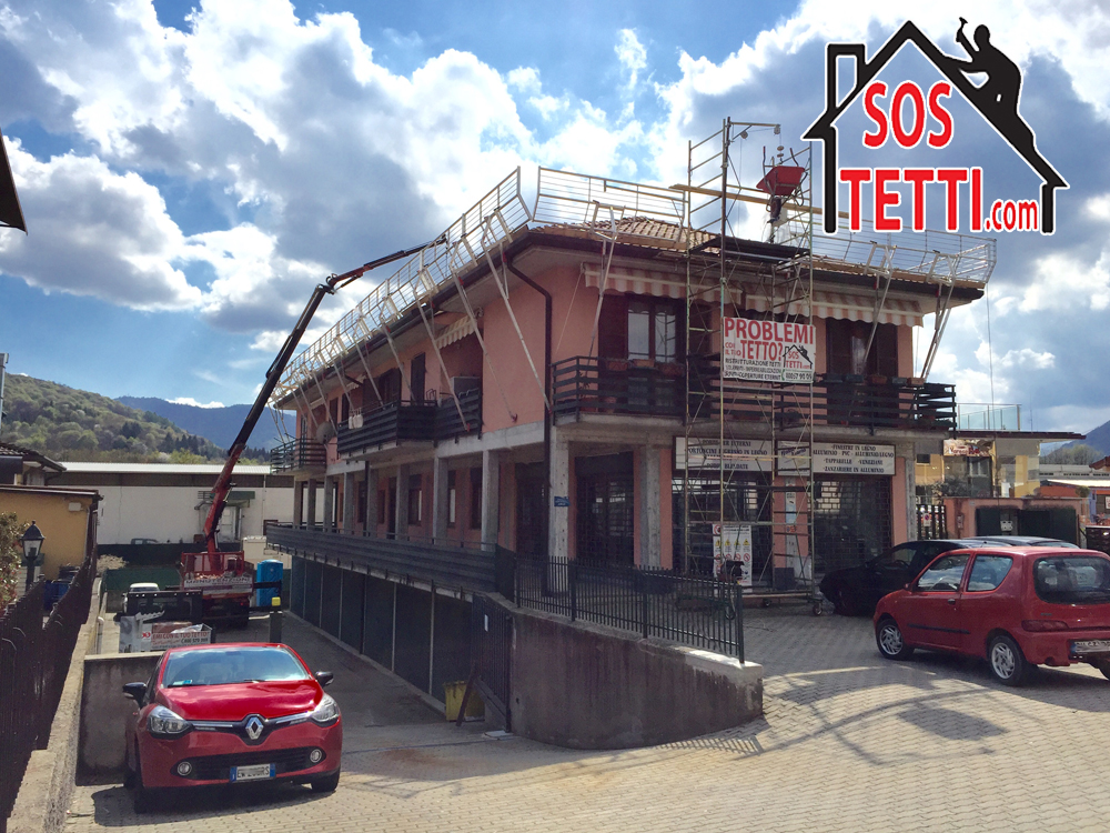 Rifacimento del tetto - Cunardo - Varese -