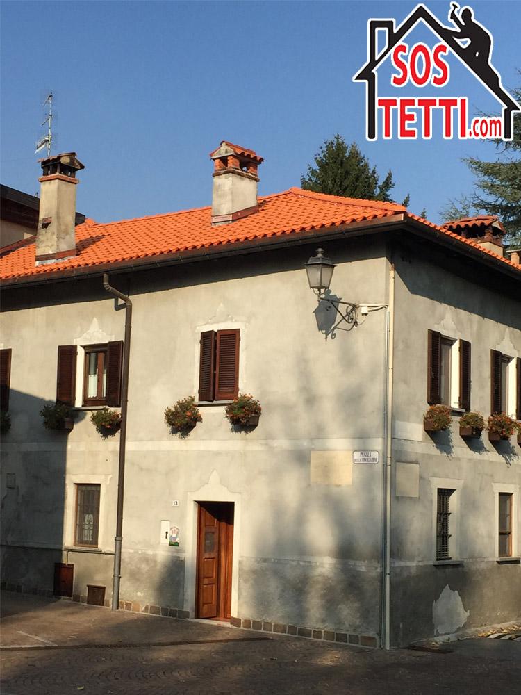 Bodio in provincia di Varese - Rifacimento del tetto