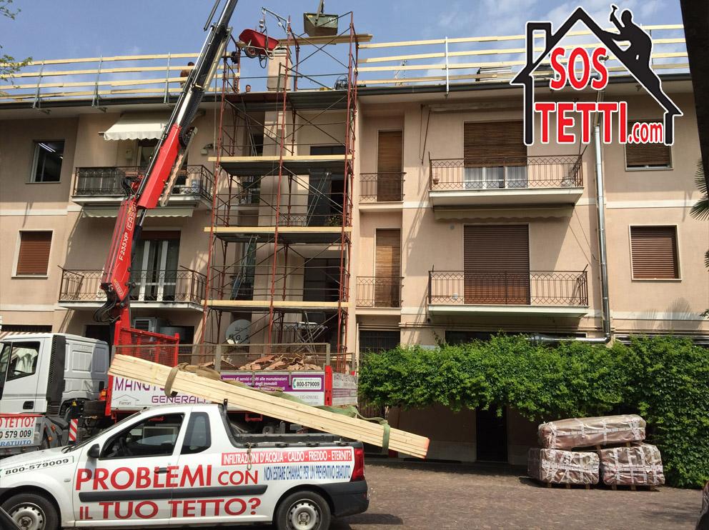 Ristrutturazione del tetto - Busto Arsizio - Va