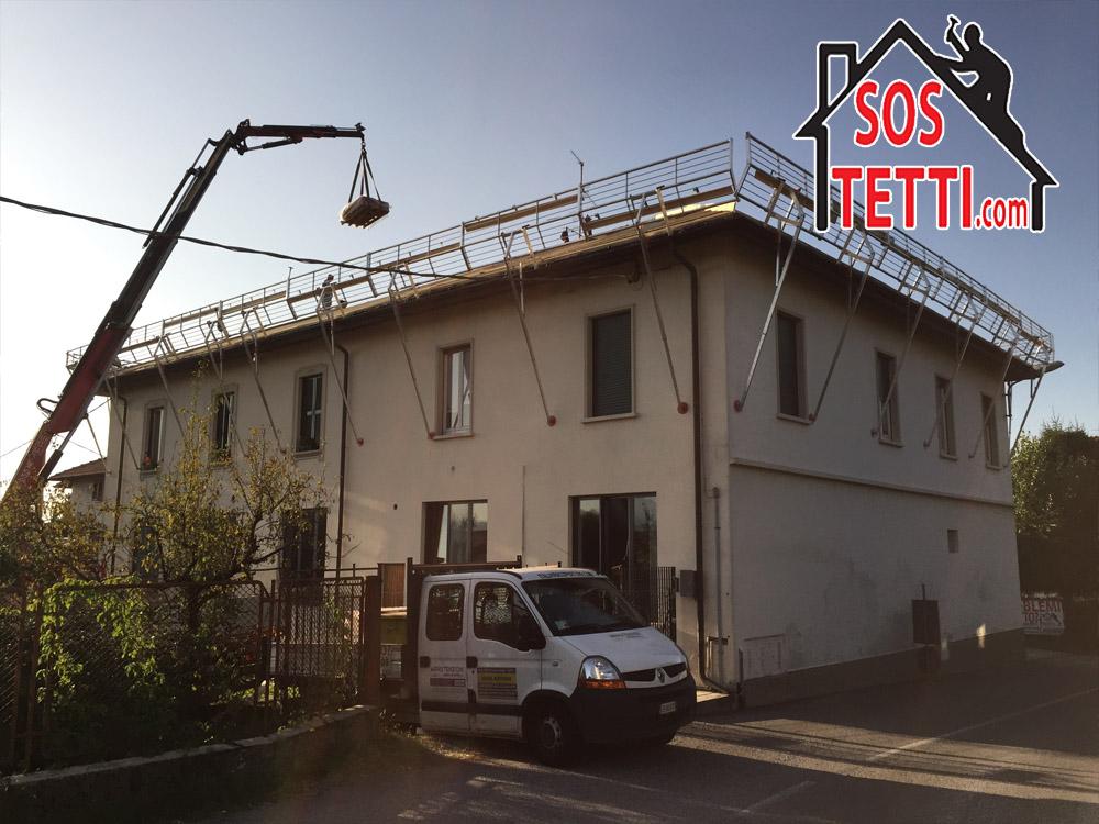 Rifacimento del tetto a Cantu' in provincia di Como