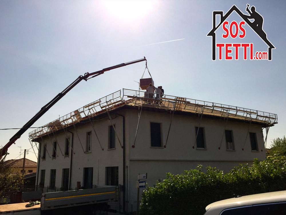 Ristrutturazione del tetto a Cantu' in provincia di como